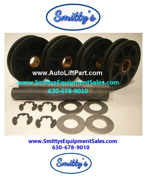 Rotary Overhead Pulley and Shaft Kit