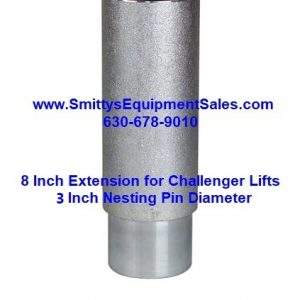 Height Extension with 3 inch pin