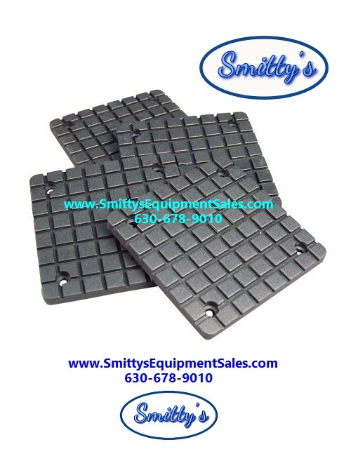 Globe Lift Square Rubber Pads