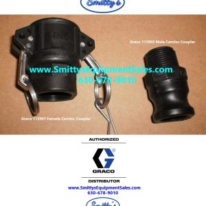 Male and Female Camloc Adapter Set