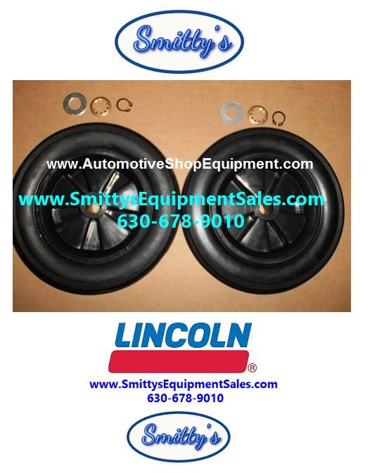 Lincoln Rear Wheels for 3613, 3601, 3643 Oil Drains