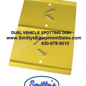 Dual Wheel Spotting Dish