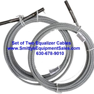 TWO Equalizer Cables