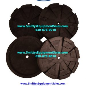 Set Of Four Rubber Pads