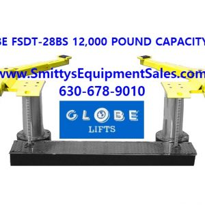 GLOBE 12K Capacity 2-POST In-Ground Lift