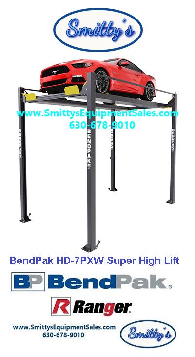 BendPak HD-7PXW Super-Tall Lift-5175516