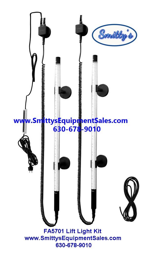 Two Post Lift Work Light Kit