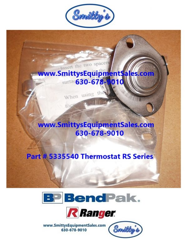 Thermostat 5335540 for RS-500 or RS-750