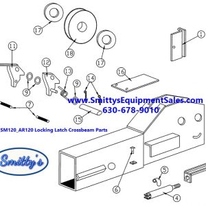 ROTARY LIFT CROSSBEAM END REPAIR PARTS