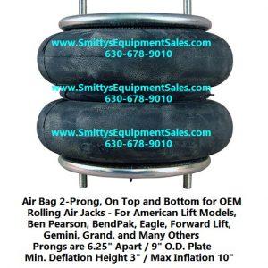 Air Bag for Rolling Jacks