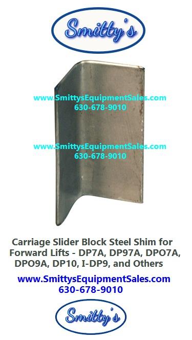 Forward Slider Block Shims 106518