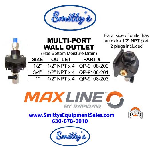 Maxline Multi-Port Outlet