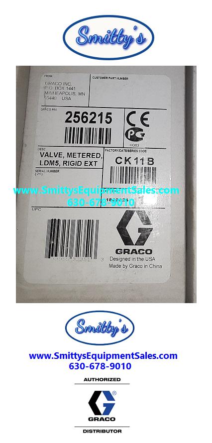 Graco LDM5 256215 Oil Meter