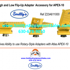 Z23A611000 Apex-10 Flip-Up Adapter Assembly